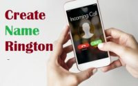 Create Name Ringtone