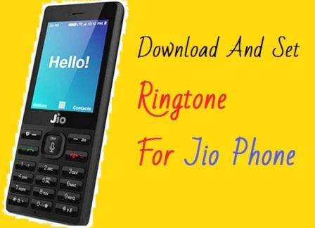 Download And Set Ringtone For Jio Phone